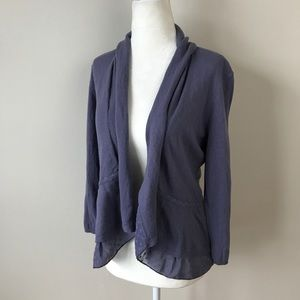 Anthropologie Angel of the North Open Cardigan NWT